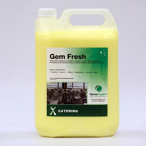 Gem Fresh - General Purpose Disinfectant (5L)