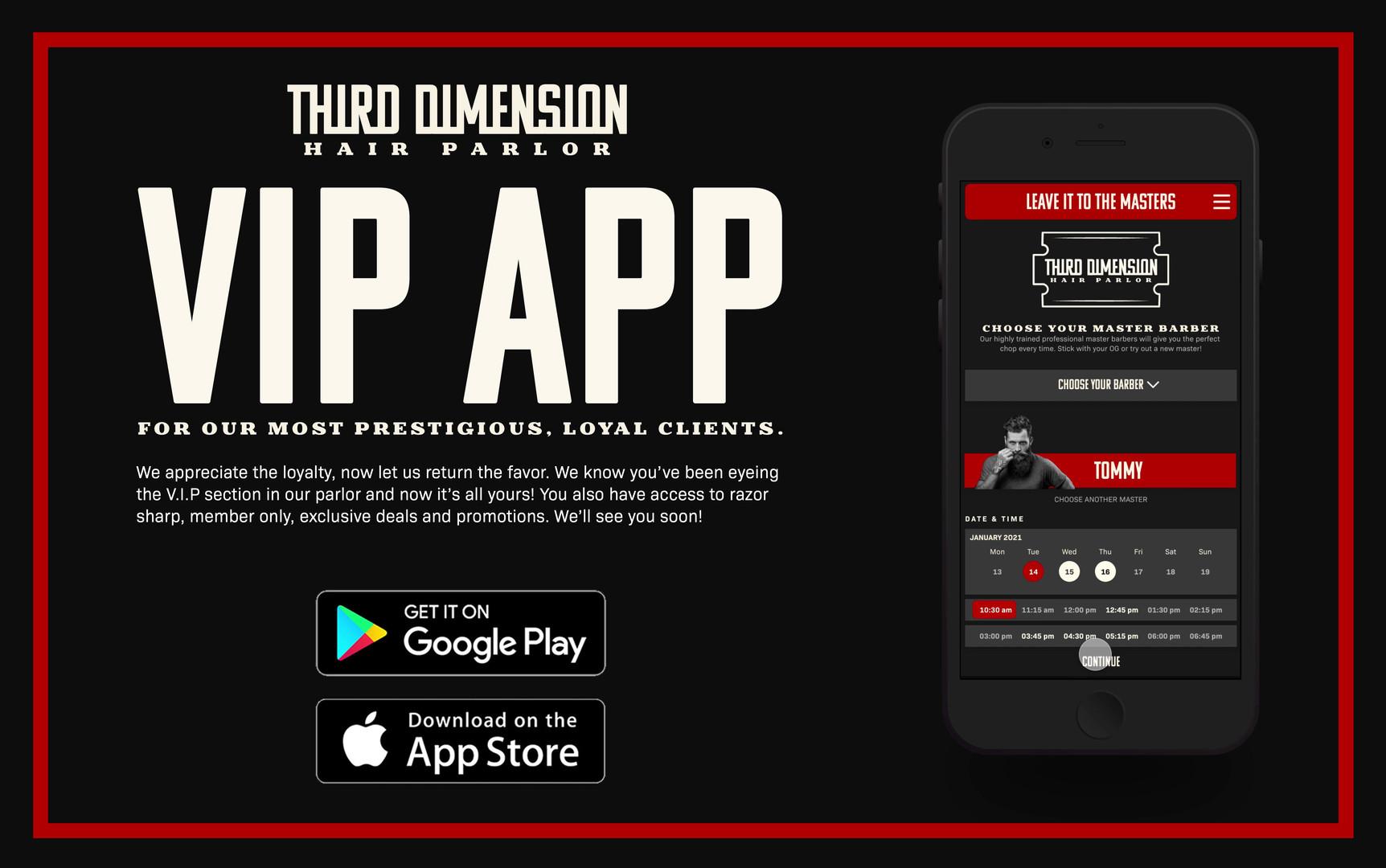 VIP App