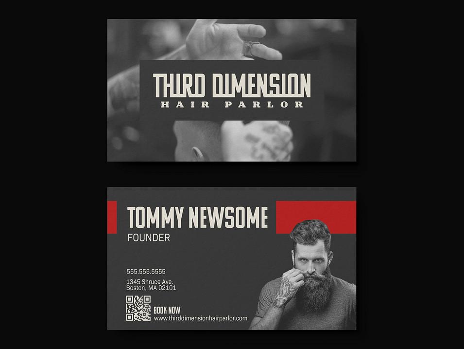 Third Dimension Business Card