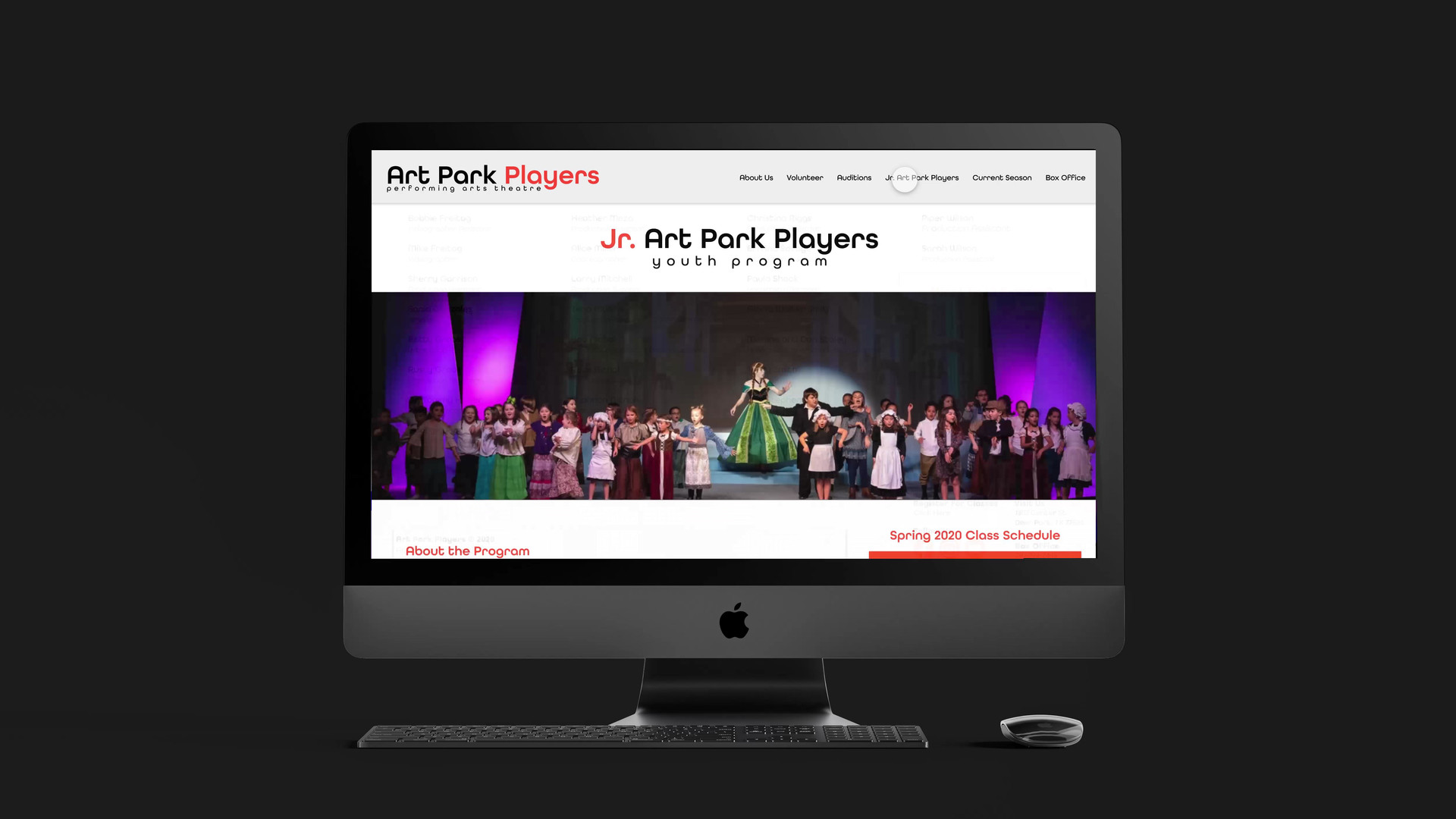 Art Park Players Website