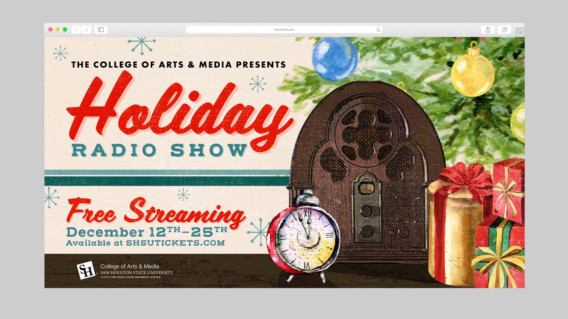 Holiday Radio Show