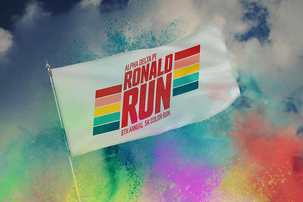 Ronald Run Flag