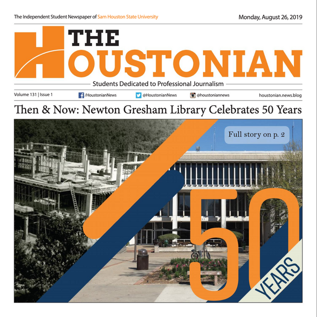 Houstonian Cover - Library