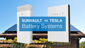 SunVault Storage System vs. Tesla Powerwall: What's the Difference?