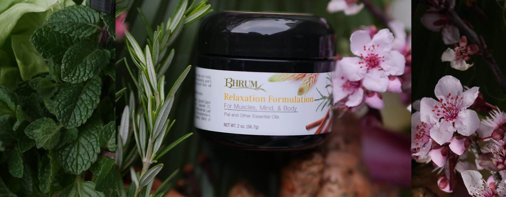 Bhrum's Relaxtion Formulation Cream