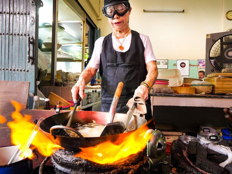 'Jay Fai' Crab meat omelette_('쩨파이' 게살 오믈렛)