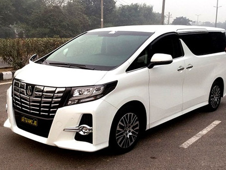 Toyota Alphard VIP VAN_파타야 일일 렌트카(토요타 알파드)