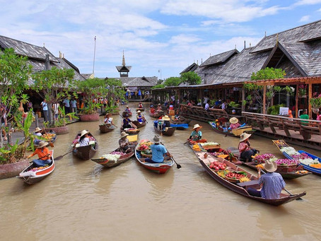Pattaya Floating Market_[파타야 수상시장]