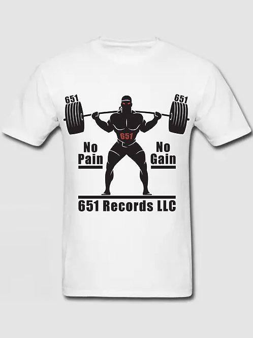 No Pain, No Gain v1, White