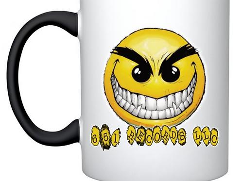 Crazy Smile Emoji v1, Mug