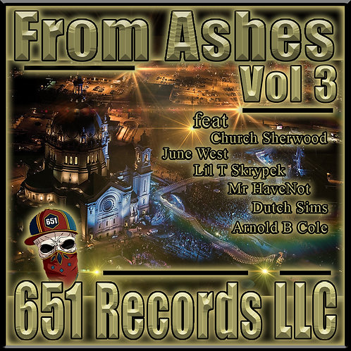 From Ashes, Vol 3, CD