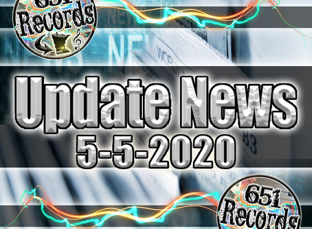 May 5th, 2020 (Update News)