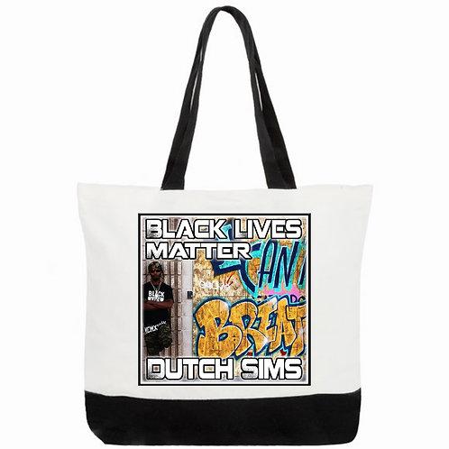 Black Lives Matter, Dutch Sims, Tote Bag