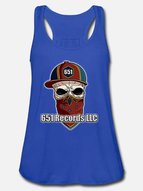 Mascot v1, Tank Top, Women's, Royal Blue