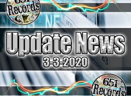 March 3rd, 2020 (Update News)