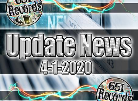 April 1st, 2020 (Update News)