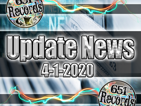 April 1st, 2020 (Update News)