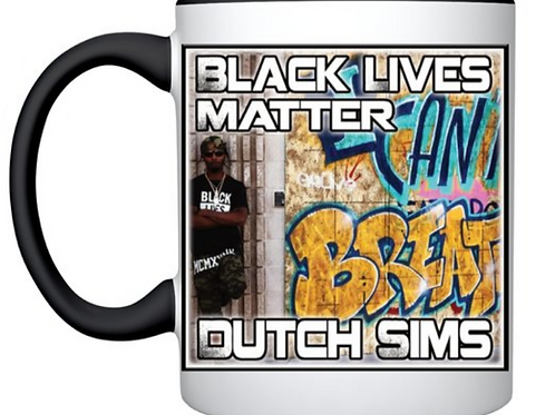 Black Lives Matter, Dutch Sims, Mug