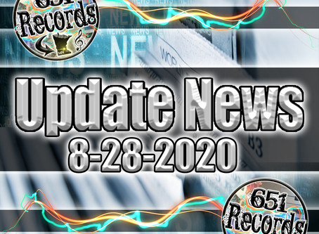 August 28th, 2020 (Update News)