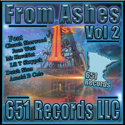 From Ashes, Vol 2, CD