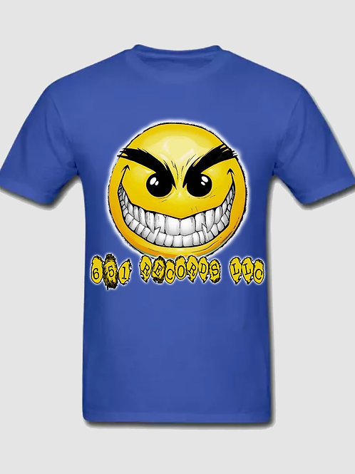 Crazy Smile Emoji v1, Royal Blue