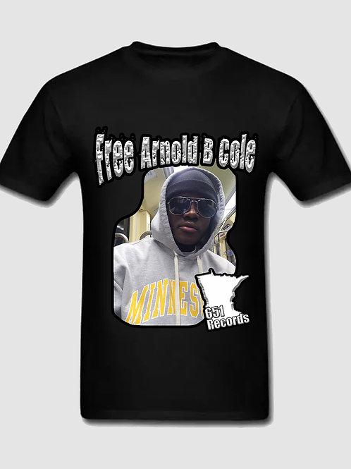 Free Arnold B Cole, T-Shirt