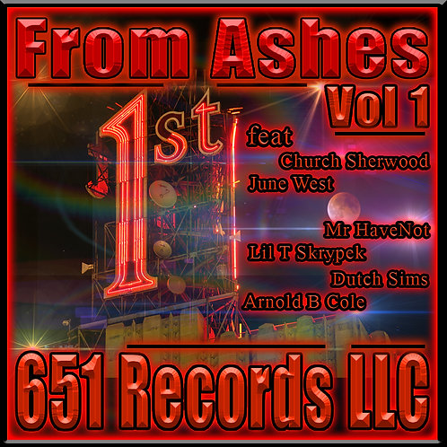 From Ashes, Vol 1, CD