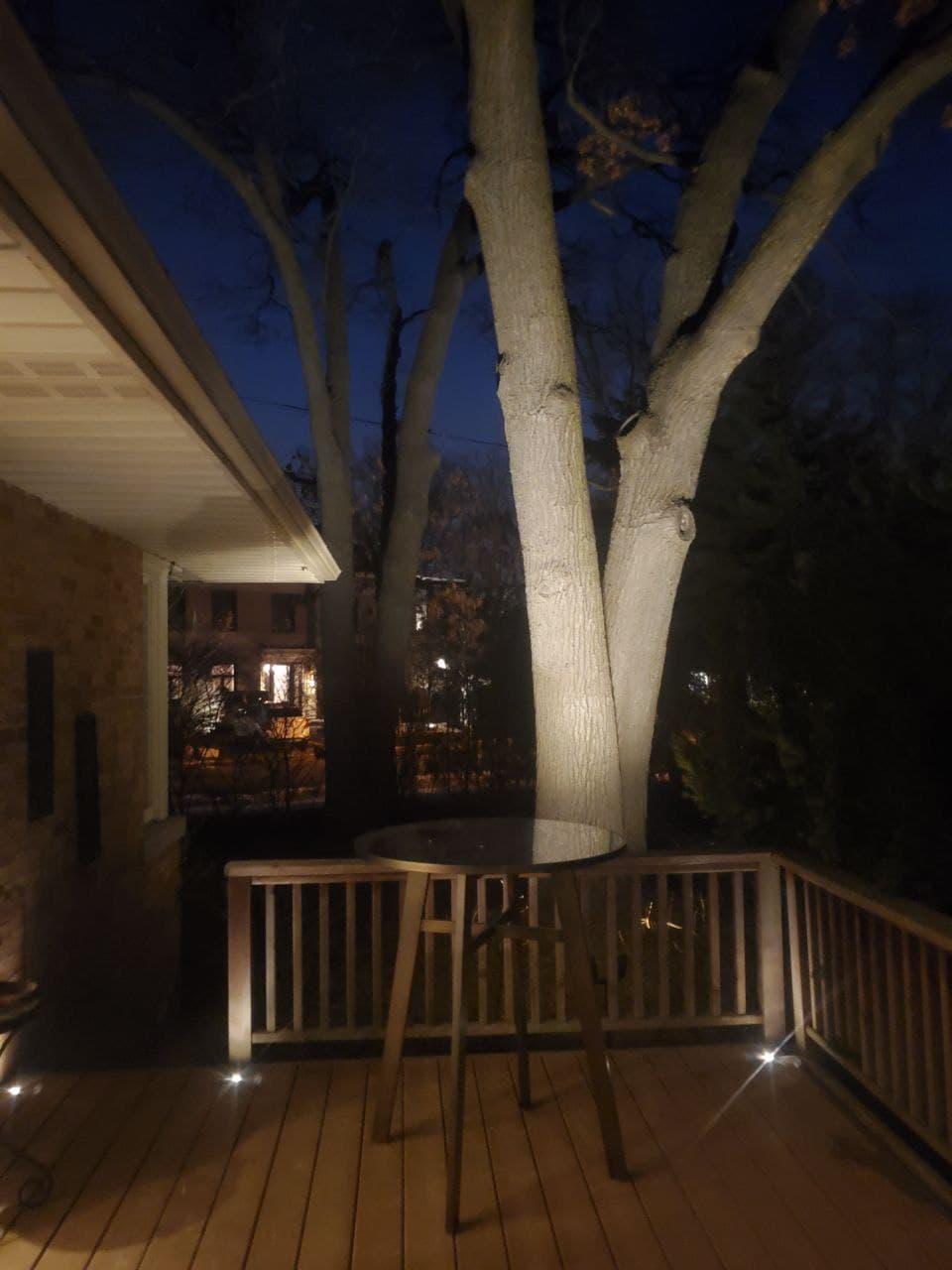Landscape Lighting Deck Lights Etobicoke