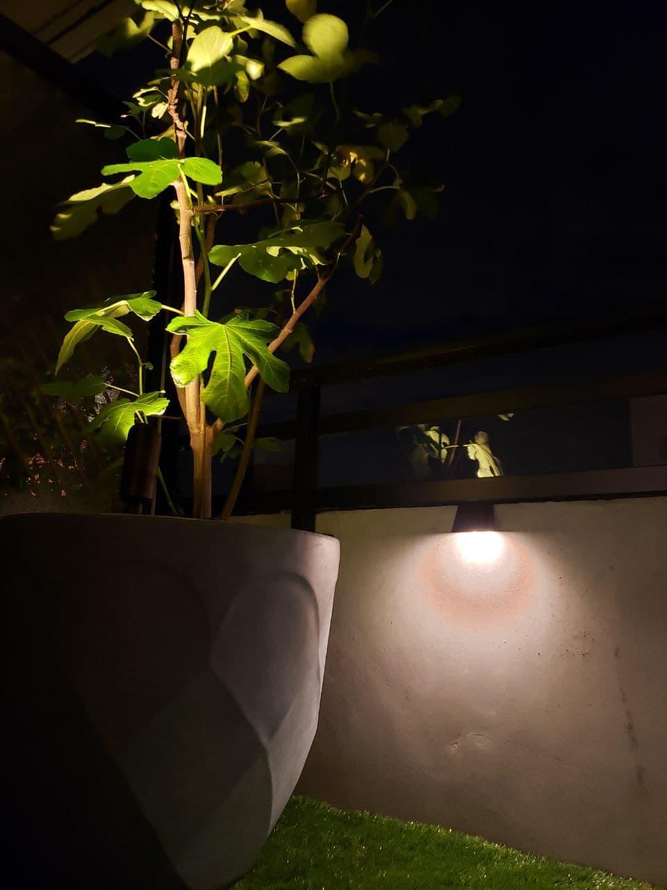 Planter Landscape Lights Balcony