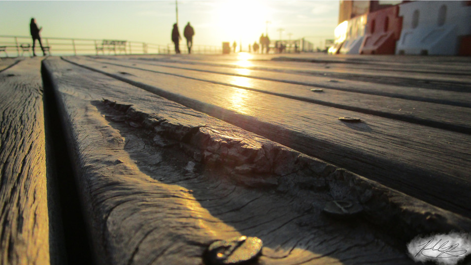Boardwalk upclose