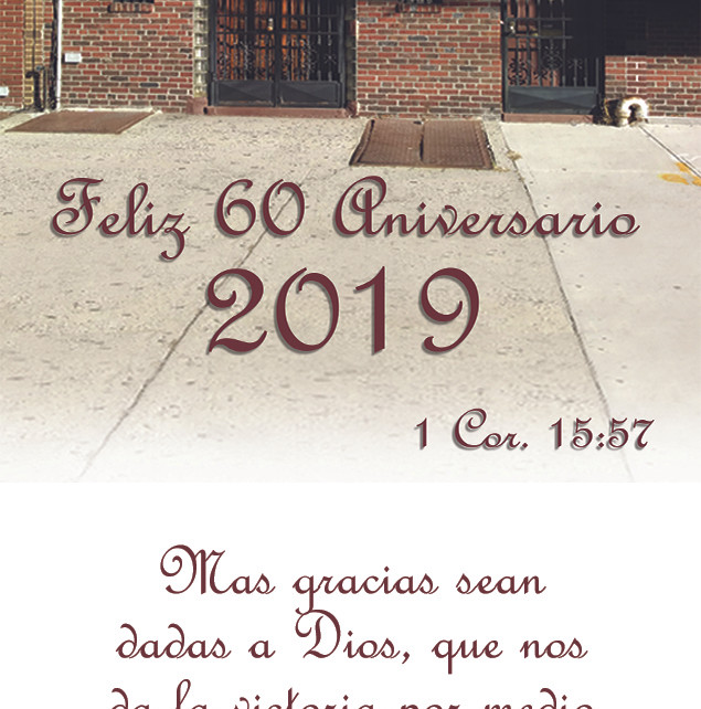 60th anniversary 2x2 magnet