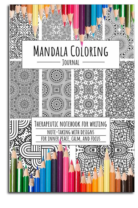 Mandala Coloring Journal