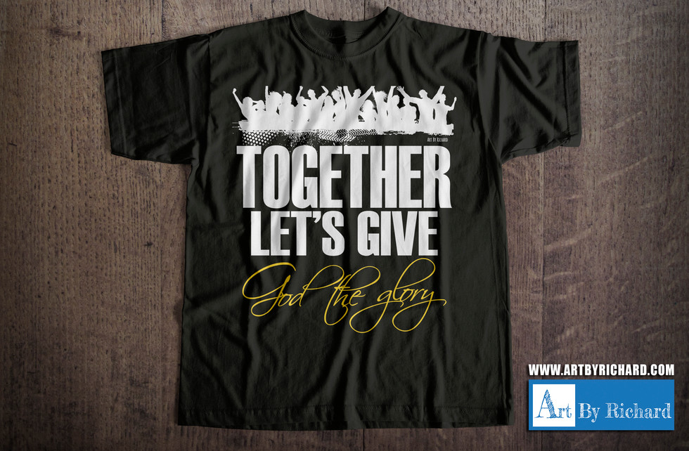 Together Let's give God the Glory
