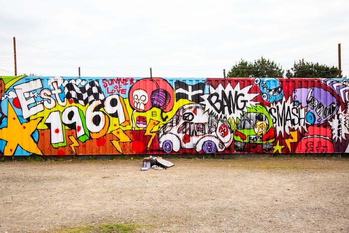 Cornwall Neighbourhoods for Change- Graffiti Art Project