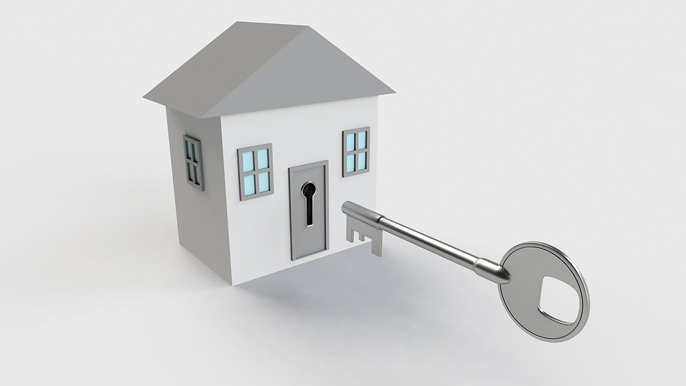 House with a key
