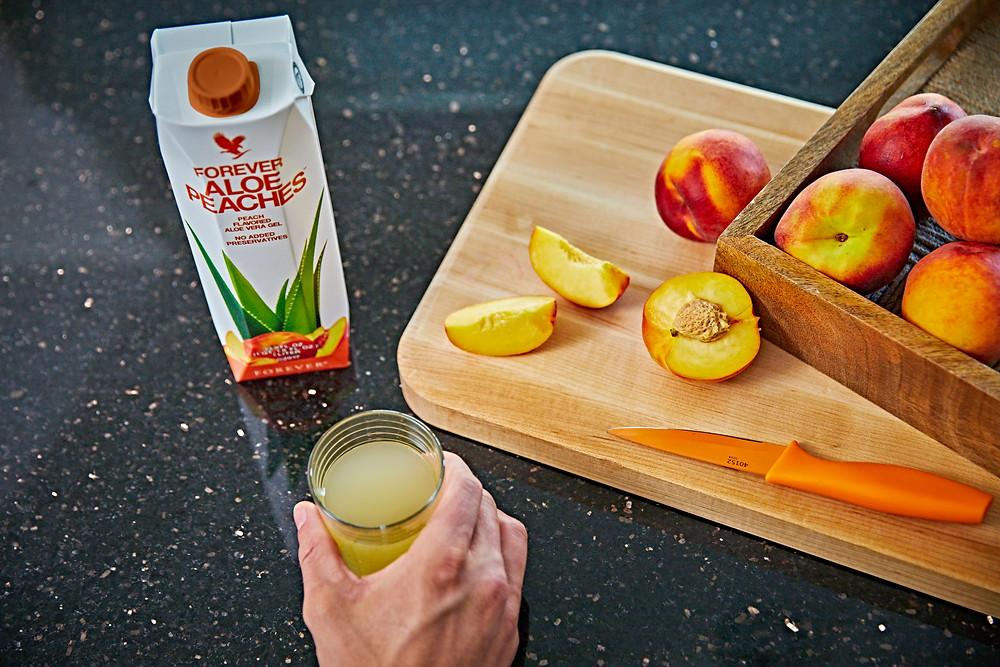 De la planta la produs, pentru tine...Aloe Peachess !