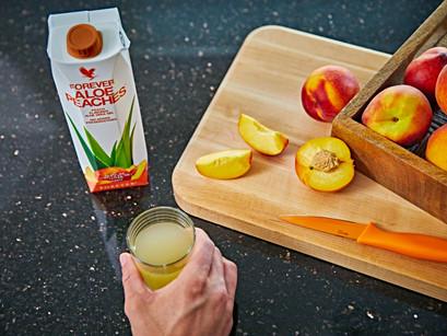 De la planta la produs, pentru tine...Aloe Peaches !