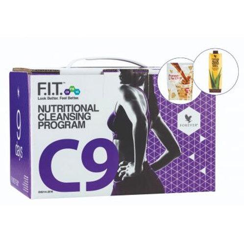 Clean 9 – pachet slabire si detoxifiere in 9 zile Ciocolata+Aloe Vera Gel
