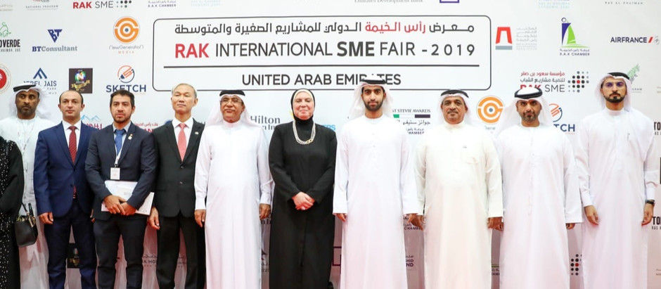 Le salon RAK SME Fair ouvre ses portes / Grand Opening of RAK SME Fair Today!