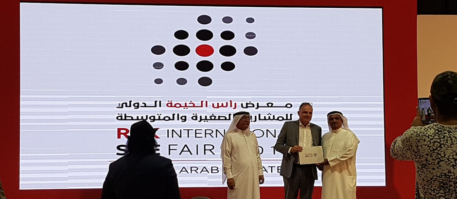 Battle Tested Consultant Honored At Closing Ceremony of RAK International SME Fair