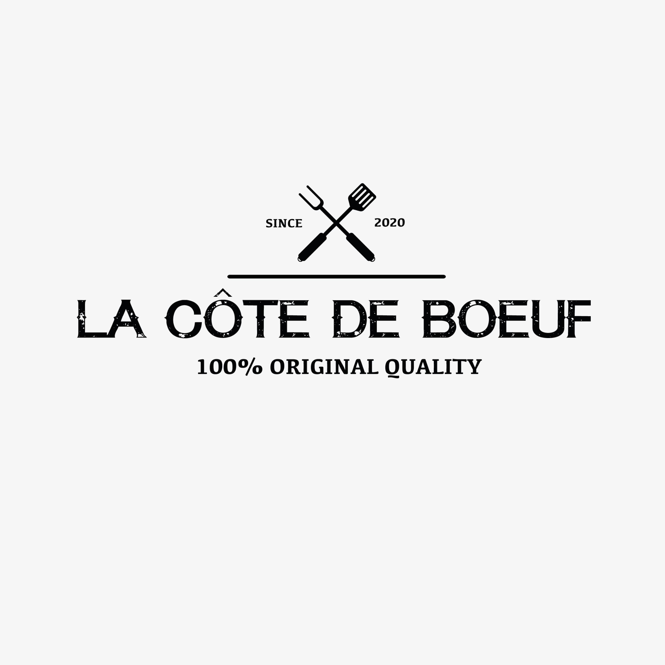 Création du logo - La Côte De Boeuf