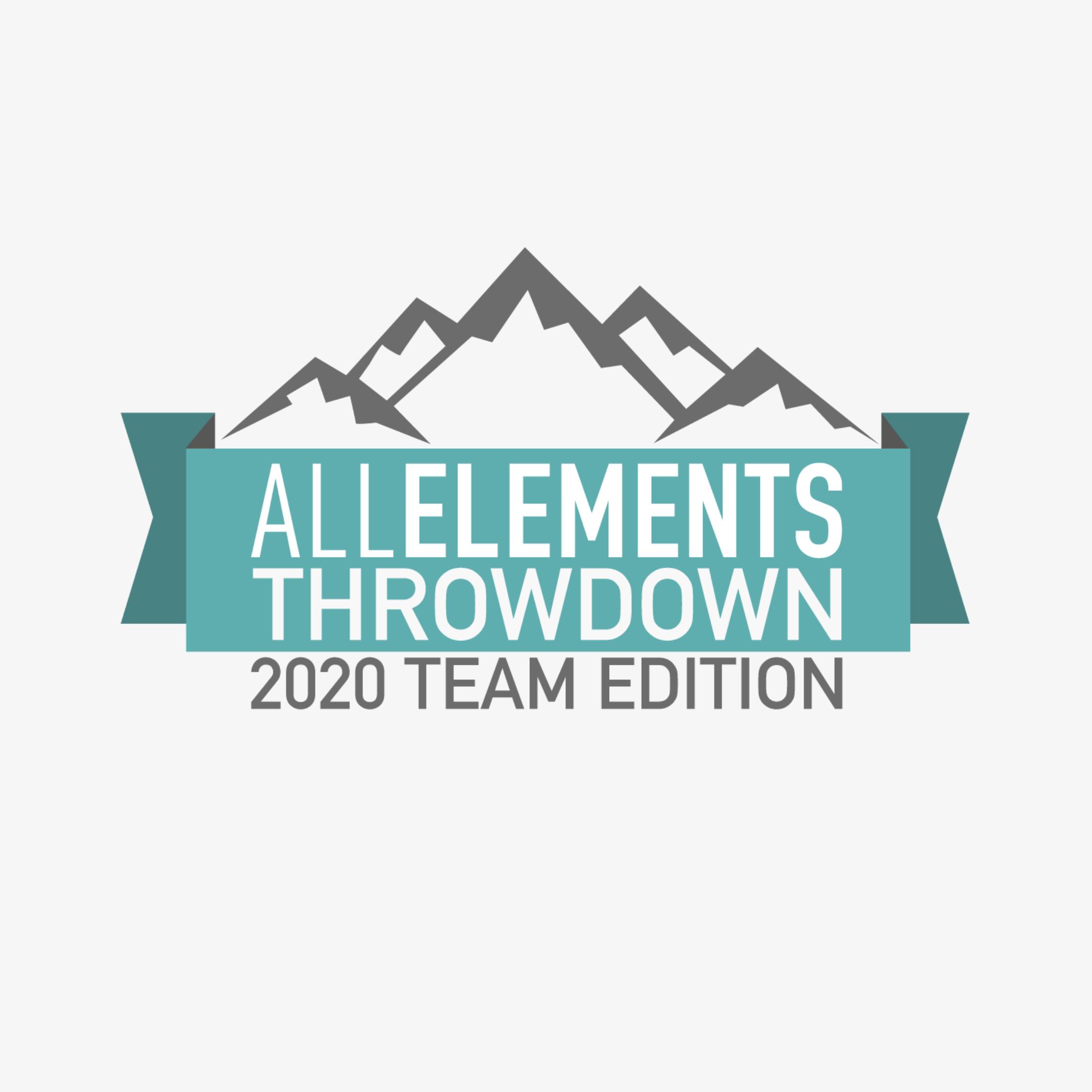 Création du logo - All Elements Throwdown
