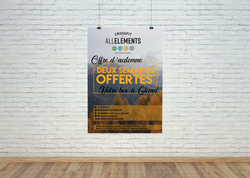 Création de flyer - CrossFit All Elements