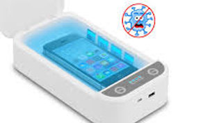 UV Multifunctional Disinfection Box Ultraviolet Sterlirizer Box for Phones, Mask