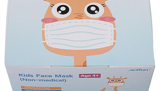 Kids' Non-Medical Disposable Face Masks (50 ct.)