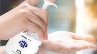 Hand Sanitizer Bottle with 75% Alcohol Gel 1 bottle