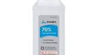 Isopropyl 70% Alcohol - 16oz – Swan