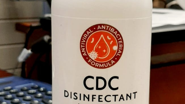 CDC Disinfectant Spray  Antivirus Antibacterial Formula