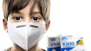 KN95 Kids Masks 95% Filtration 10 mask per box