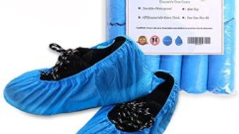 Pack of Disposable Shoe Covers.  shoe protectors
